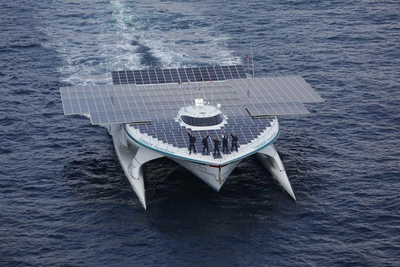 turanor planetsolar boat first solar powered boat to circumnavigate the world 8 The Solar Powered Boat that Circumnavigated the World