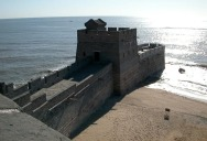 Picture of the Day: Where the Great Wall of China Meets the Sea