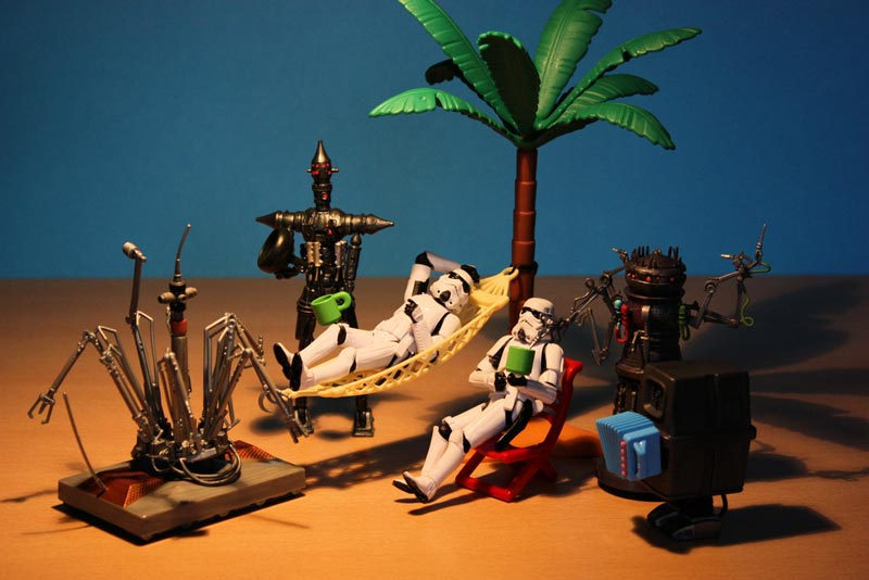 a day in the life of a stormtrooper 365 by stefan le du 10 A Day in the Life of a Stormtrooper