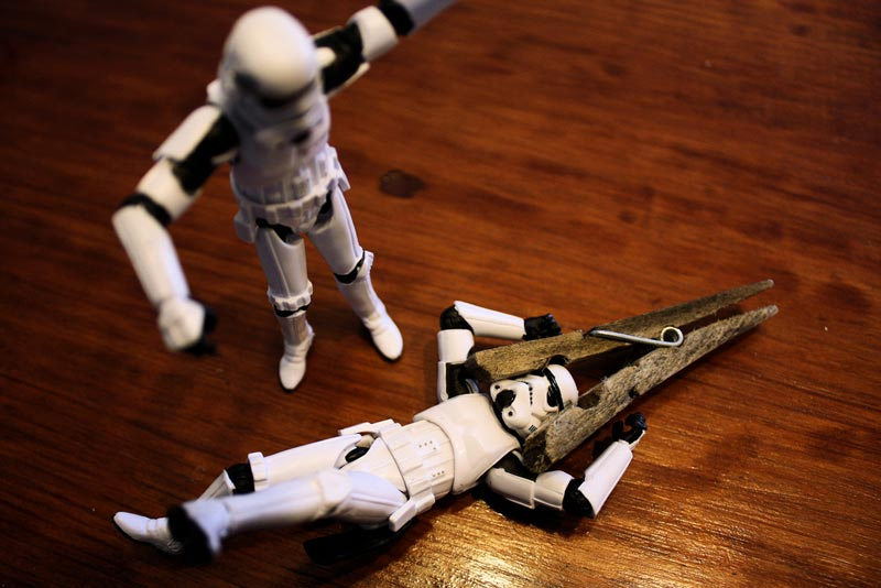 a day in the life of a stormtrooper 365 by stefan le du 17 A Day in the Life of a Stormtrooper