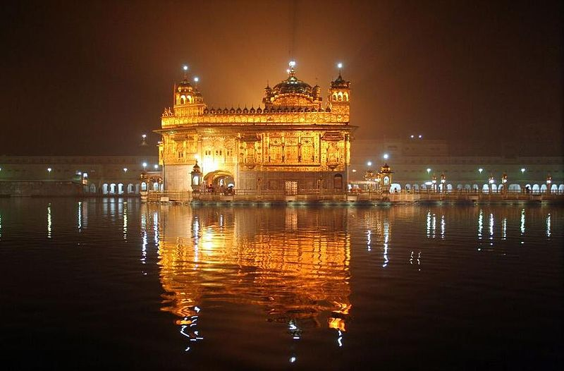 amritsar golden temple at night The Kitchen at the Golden Temple Feeds up to 100,000 People a Day for Free