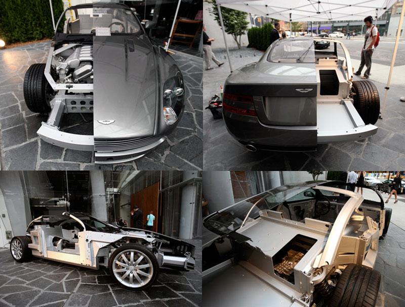 aston martin dbs volante cutaway 15 Amazing Car Cutaways
