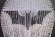 Awesome Batman Symbol Made from Thread