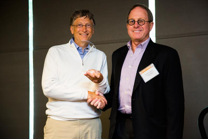 bill gates awards california institute of technology as the winner of the reinvent the toilet challenge Bill Gates Wants to Reinvent the Toilet