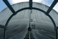 Picture of the Day: Climbing the Cooling Tower