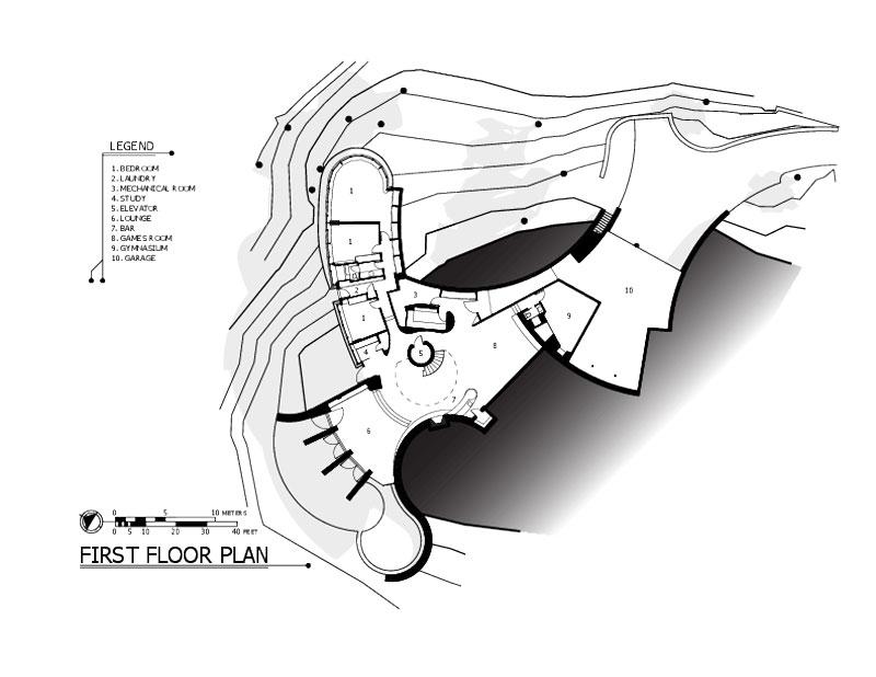 curvaceous chenequa residence by robert harvey oshatz 1 The Curvaceous Chenequa Residence by Robert Harvey Oshatz