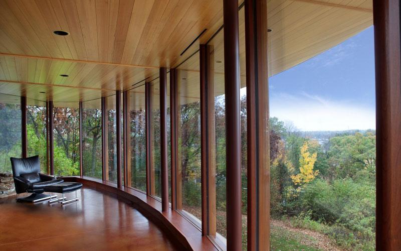 curvaceous chenequa residence by robert harvey oshatz 13 The Curvaceous Chenequa Residence by Robert Harvey Oshatz