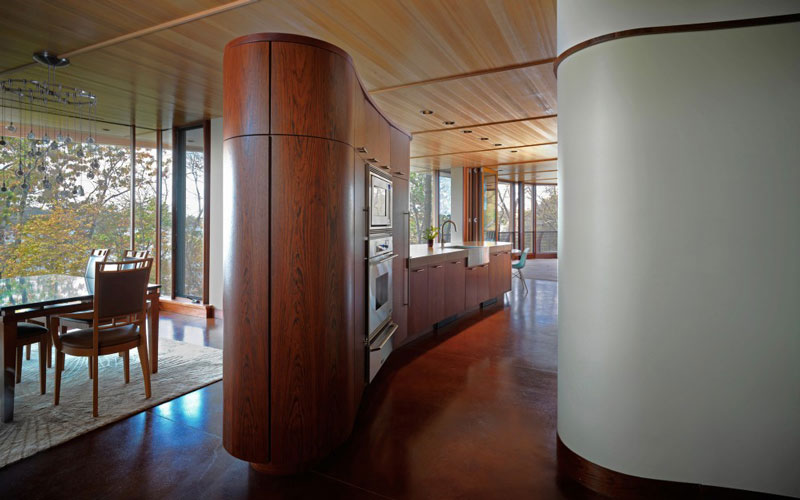 curvaceous chenequa residence by robert harvey oshatz 7 The Curvaceous Chenequa Residence by Robert Harvey Oshatz