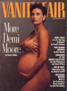 demi moore pregnant magazine cover vanity fair controversial demi moore pregnant magazine cover vanity fair controversial