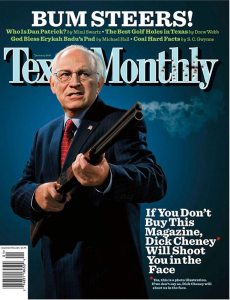 dick cheney shoot you in face controversial magazine cover dick cheney shoot you in face controversial magazine cover