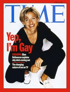 ellen comes out yep im gay time magazine cover controversial ellen comes out yep im gay time magazine cover controversial