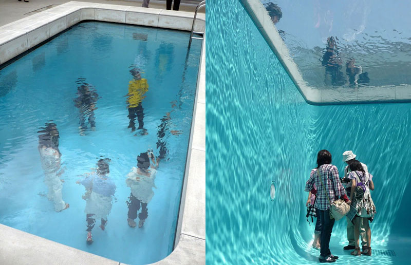 The Swimming Pool Illusion by Leandro Erlich