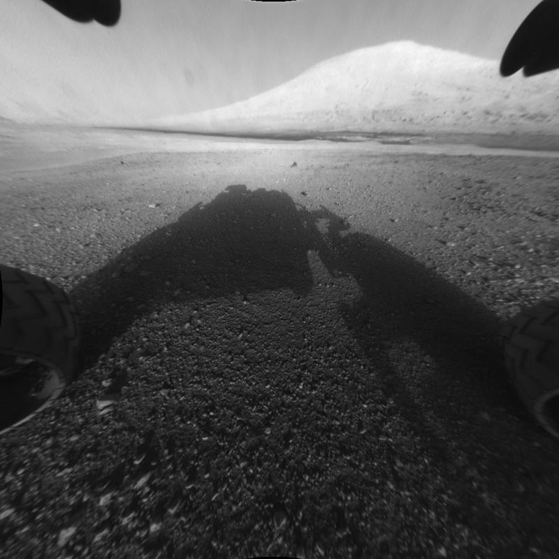 first pictures of mars by curiosity rover nasa Picture of the Day: Curiosity Lands on Mars