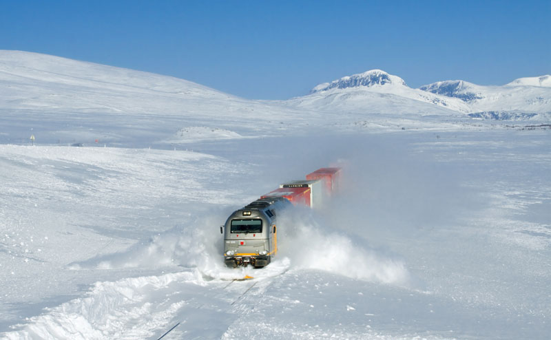 freight train plowing through the snow The 2011 Wikimedia Commons Pictures of the Year
