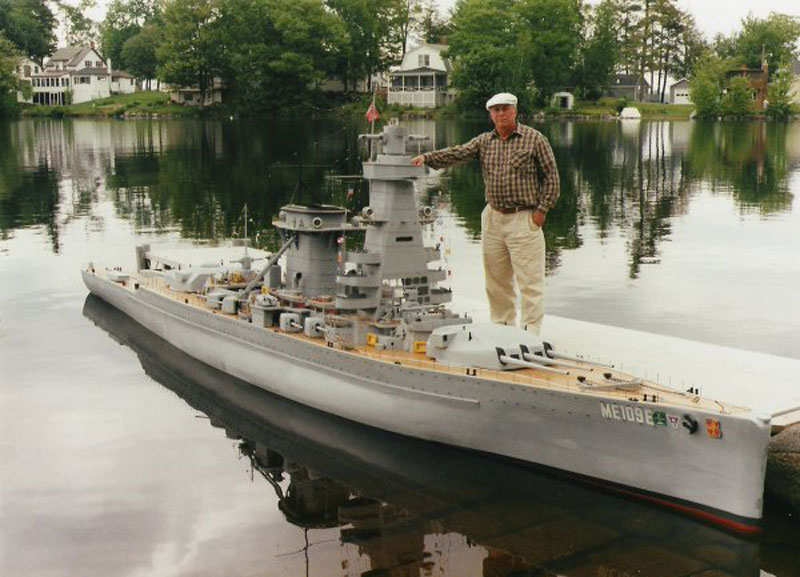 giant model warship replica admiral graf spee by william terra 15 Check Out This Hot Tub Tug Boat