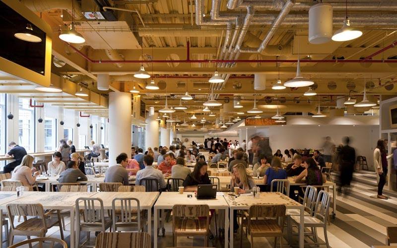 google london hq office by penson 12 Googles Funky Headquarters in London