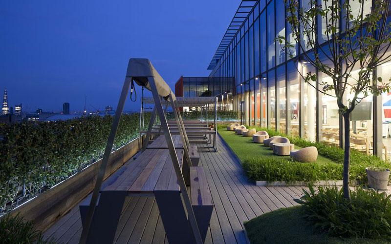 google london hq office by penson 15 Googles Funky Headquarters in London