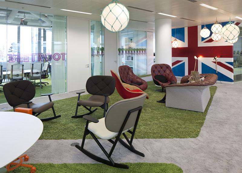 google london hq office by penson 19 Googles Funky Headquarters in London