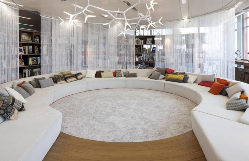 google london hq office by penson 2 Googles Funky Headquarters in London