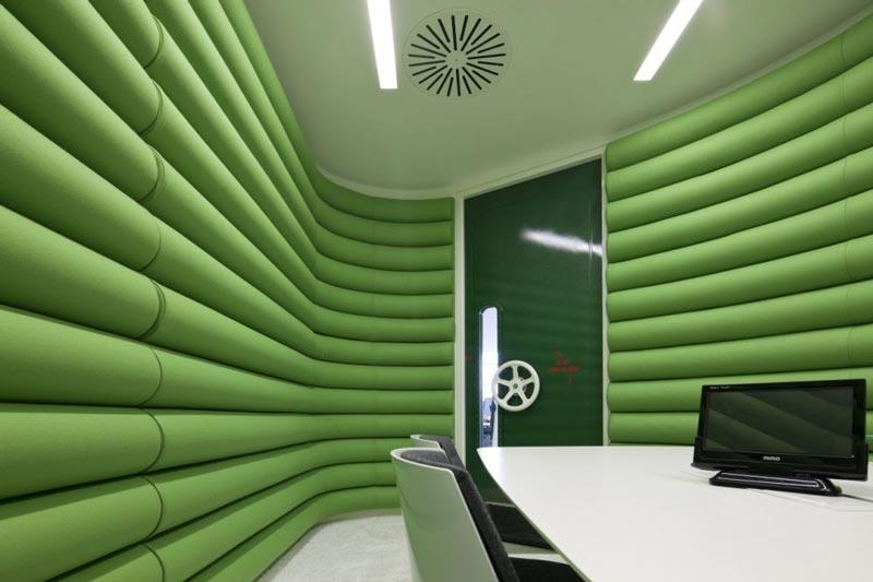 google london hq office by penson 6 Googles Funky Headquarters in London