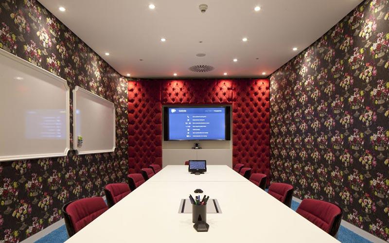 google london hq office by penson 9 Googles Funky Headquarters in London
