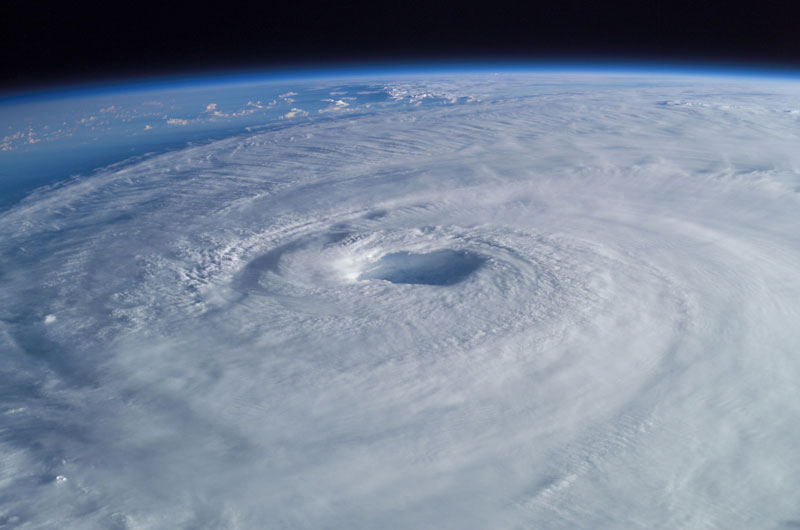hurricane isabel from iss space The 2011 Wikimedia Commons Pictures of the Year