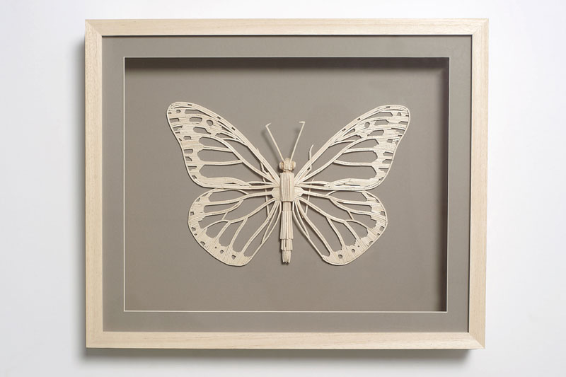 insects made from matchsticks kyle bean 4 Inventive Hand Crafted Art by Kyle Bean