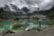 Picture of the Day: Beautiful Lake Bondhus in Norway