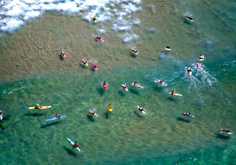 maroubra bay aerial maison gray Beaches Around the World Seen from Above