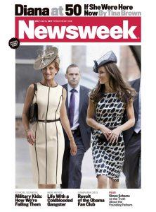 newsweek princess diana and kate middleton controversial magazine cover newsweek princess diana and kate middleton controversial magazine cover