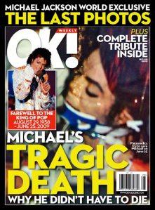 ok weekly magazine cover michael jackson death controversial ok weekly magazine cover michael jackson death controversial