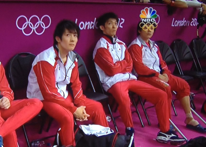 olympic rings as glasses on an athlete london 2012 The Shirk Report   Volume 173