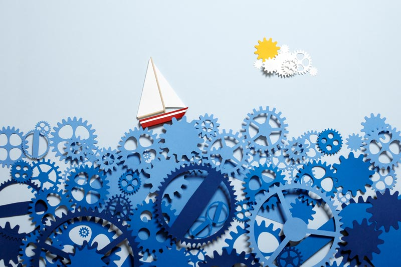 sea of time paper art kyle bean Inventive Hand Crafted Art by Kyle Bean