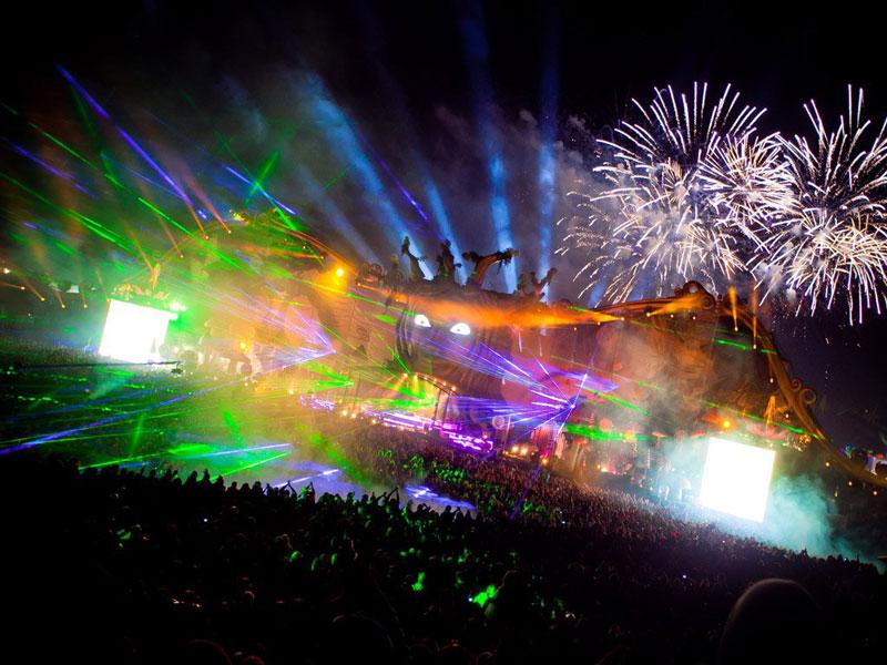 tomorrowland music festival stage belgium 13 The Amazing Stage Designs of the Tomorrowland Music Festival