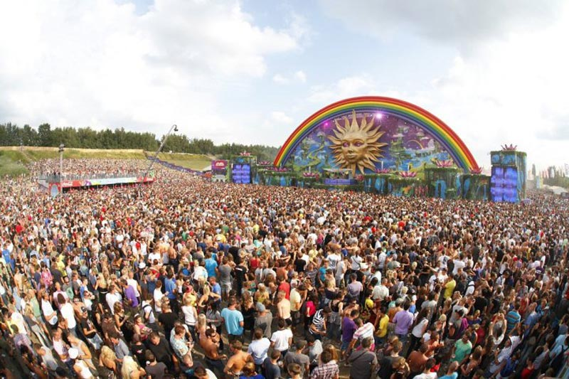 tomorrowland music festival stage belgium 4 The Amazing Stage Designs of the Tomorrowland Music Festival