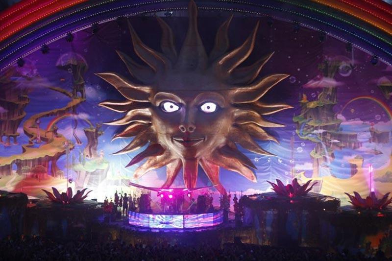tomorrowland music festival stage belgium 5 The Amazing Stage Designs of the Tomorrowland Music Festival