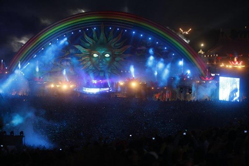 tomorrowland music festival stage belgium 6 The Amazing Stage Designs of the Tomorrowland Music Festival