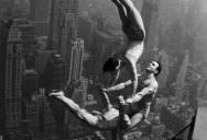 Picture of the Day: Vintage Acrobatic Insanity