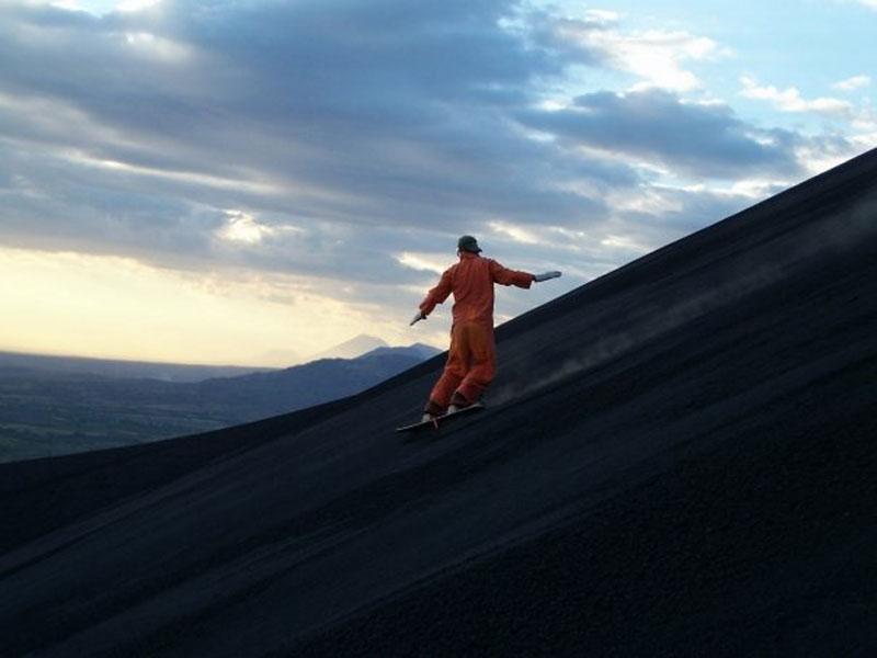 volcano ash boarding cerro negro leon nicaragua 1 Volcano Boarding at Cerro Negro in Nicaragua