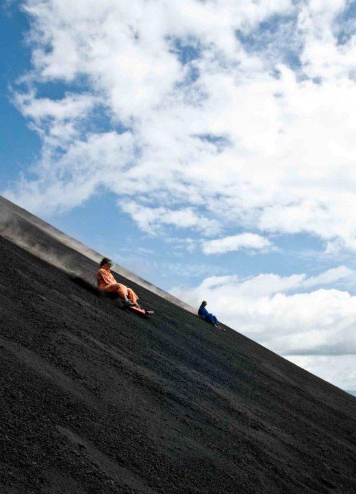 volcano ash boarding cerro negro leon nicaragua 2 Volcano Boarding at Cerro Negro in Nicaragua