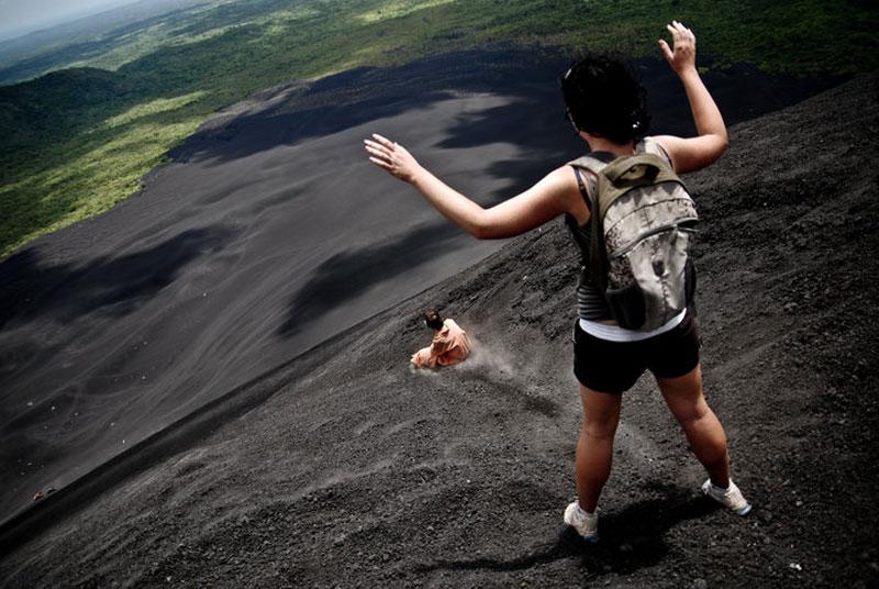 volcano ash boarding cerro negro leon nicaragua 3 Volcano Boarding at Cerro Negro in Nicaragua