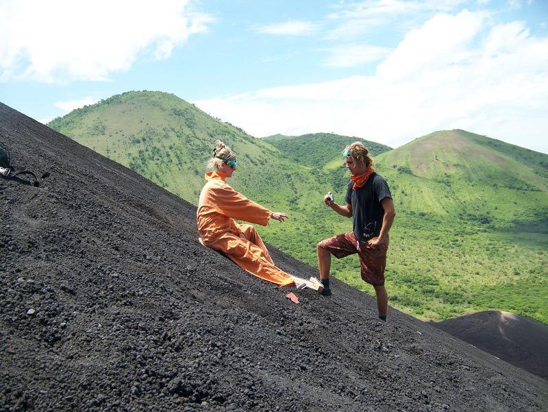 volcano boarding cerro negro nicaragua Volcano Boarding at Cerro Negro in Nicaragua
