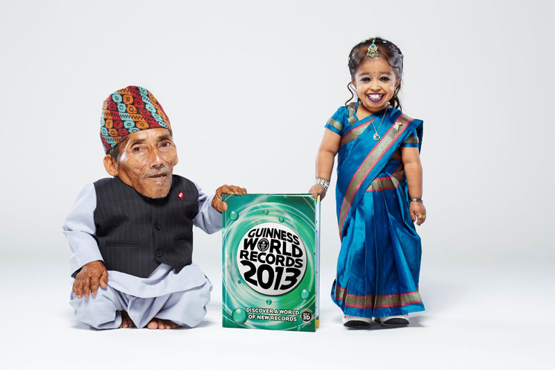 worlds shortest man and woman together Picture of the Day: The Shortest People in the World Meet