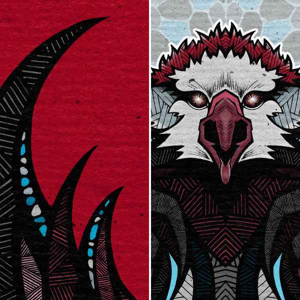animal crest illustrations by andreas preis 24 Stunning Animal Crest Illustrations by Andreas Preis