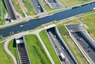 Picture of the Day: Aqueduct Highway Overpass in The Netherlands