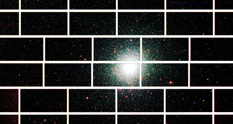 center of the globular star cluster 47 tucanae The Most Powerful Digital Camera in the World