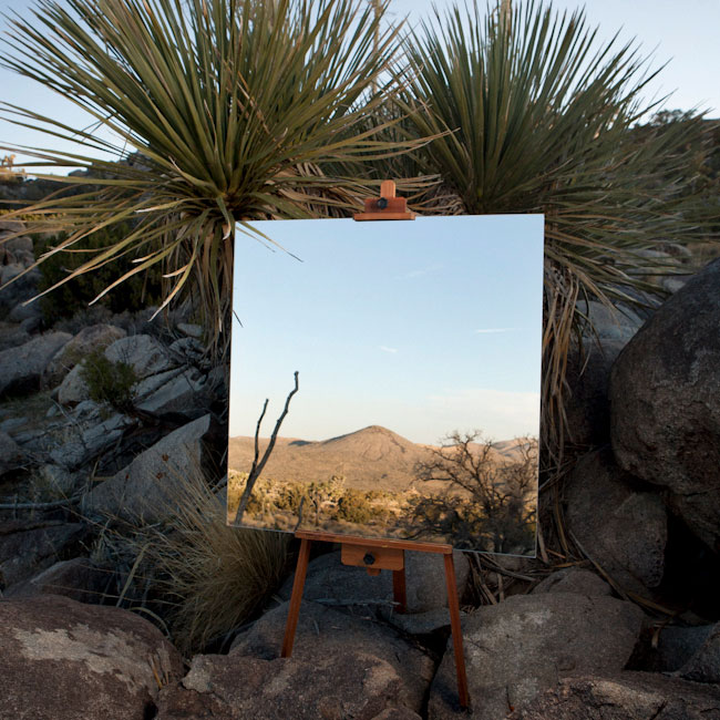 desert landscape portraits using a mirror and easel daniel kukla 1 Desert Landscape Portraits Using a Mirror and Easel
