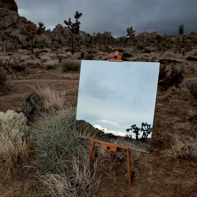 desert landscape portraits using a mirror and easel daniel kukla 3 Desert Landscape Portraits Using a Mirror and Easel