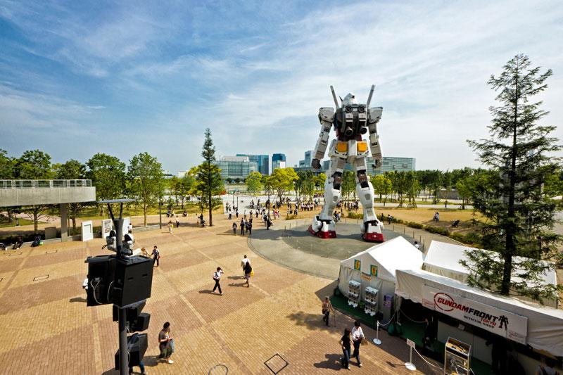 full size gundam model statue japan 18 meter 30th anniversary 1 A Full Scale Gundam Model in Japan
