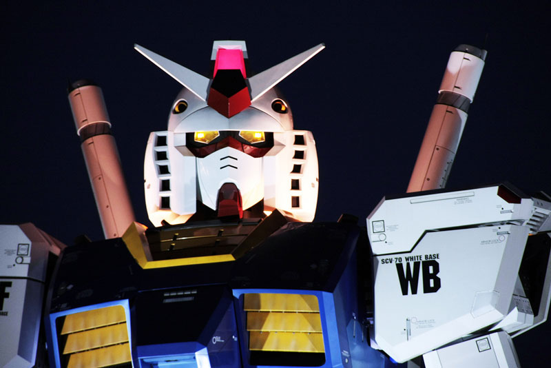 full size gundam model statue japan 18 meter 30th anniversary 16 A Full Scale Gundam Model in Japan